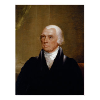 James Madison by Chester Harding (1830) Postcard