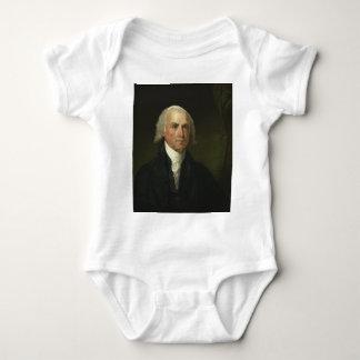 James Madison by Gilbert Stuart (1821) Baby Bodysuit