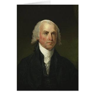 James Madison by Gilbert Stuart (1821) Greeting Card