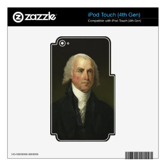 James Madison by Gilbert Stuart (1821) iPod Touch 4G Decal