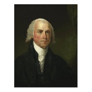 James Madison by Gilbert Stuart (1821) Postcard