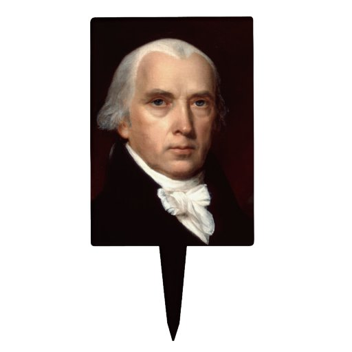 James Madison Cake Toppers