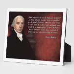 James Madison Constitution Display Plaques