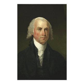James Madison de Gilbert Estuardo (1821) Personalized Stationery