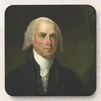 James Madison de Gilbert Estuardo (1821) Posavasos De Bebidas