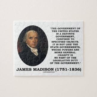 James Madison Govt de Estados Unidos especificó Rompecabezas Con Fotos