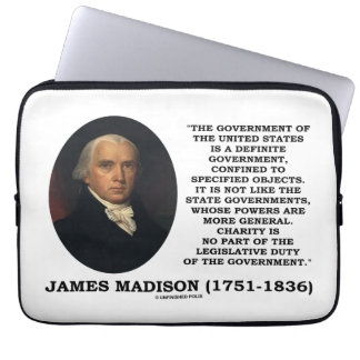 James Madison Govt Of United States Specified Govt Computer Sleeve