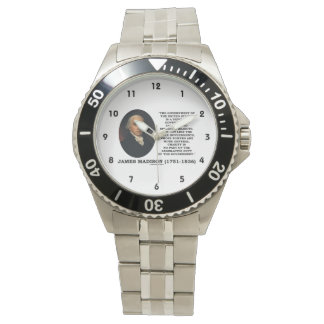 James Madison Govt Of United States Specified Govt Wrist Watch