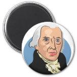 James Madison Imán Redondo 5 Cm