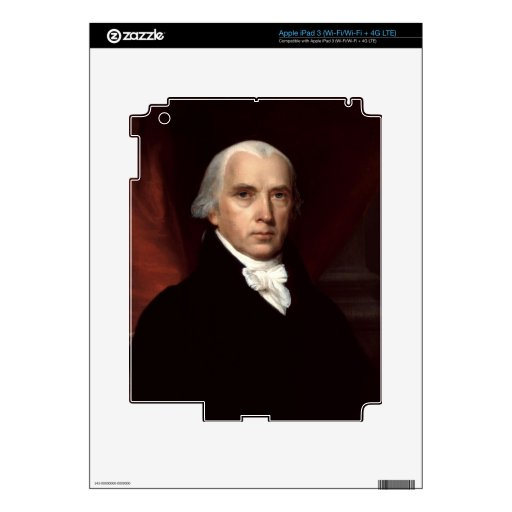 James Madison iPad 3 Pegatina Skin