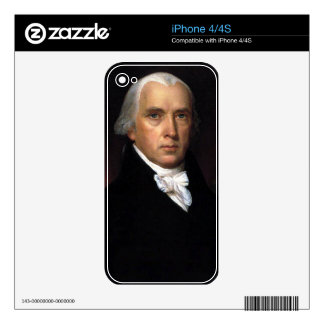 James Madison iPhone 4S Skins