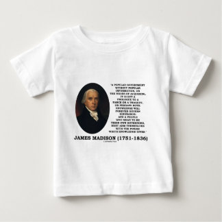 James Madison Knowledge Forever Govern Ignorance Baby T-Shirt