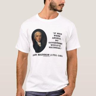 James Madison Men Angels No Government Necessary T-Shirt