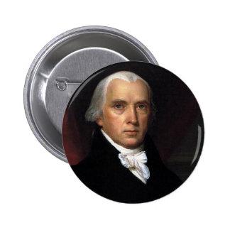 James Madison Pin Redondo De 2 Pulgadas