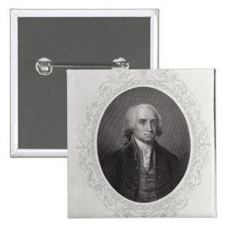 James Madison Pinback Button