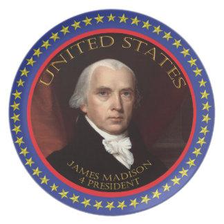 James Madison Plate