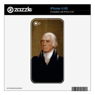 James Madison por Chester Harding (1830) iPhone 4S Skin