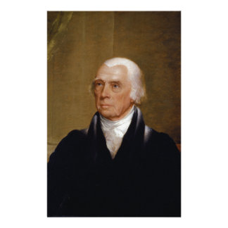 James Madison por Chester Harding (1830) Papeleria Personalizada