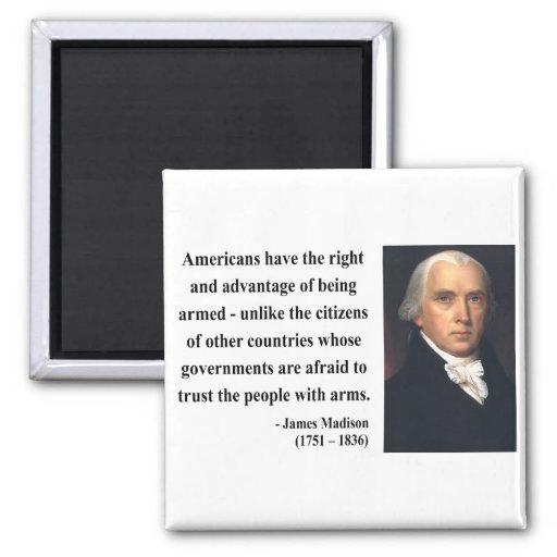 James Madison Quote 4b Magnet