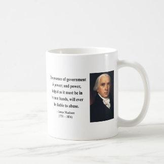 James Madison Quote 5b Coffee Mug