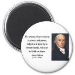 James Madison Quote 5b Magnet