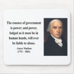 James Madison Quote 5b Mouse Pads