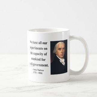 James Madison Quote 6b Coffee Mug