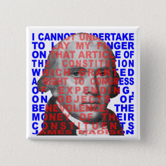 James Madison Quote Button