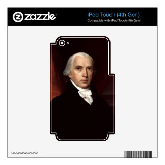 James Madison Decals For iPod Touch 4G
