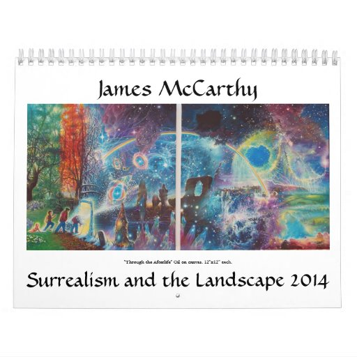 James McCarthy Surrealism and the Landscape 2014 Wall Calendars