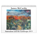 James McCarthy- Surrealism and the Landscape 2015 Wall Calendars