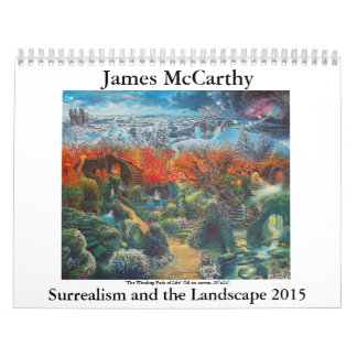 James McCarthy- Surrealism and the Landscape 2015 Calendar