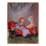James McNeil Whistler Milly Finch Poster