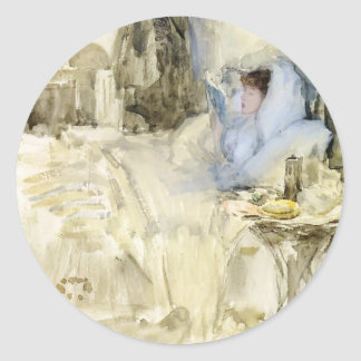 James McNeill Whistler: Convalescent Round Stickers