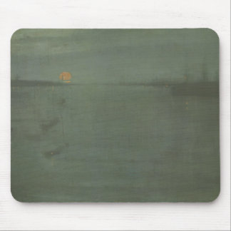 James McNeill Whistler - Nocturne- Blue and Gold Mouse Pad