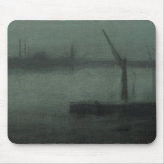James McNeill Whistler - Nocturne- Blue and Silver Mouse Pad
