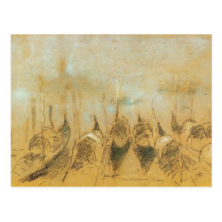 James McNeill Whistler: Nocturne, San Giorgio Postcard