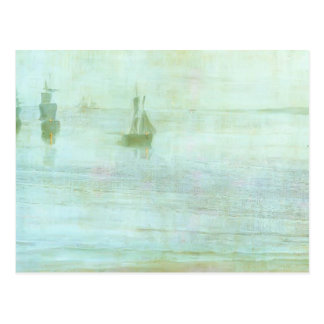 James McNeill Whistler- Nocturne - the Solent Post Card