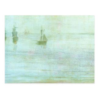 James McNeill Whistler- Nocturne - the Solent Postcard