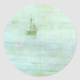 James McNeill Whistler- Nocturne - the Solent Stickers