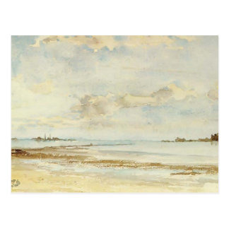 James McNeill Whistler: Note in Blue and Opal Postcard