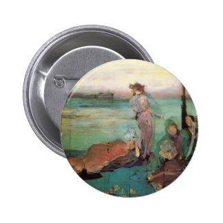 James McNeill Whistler- Sketch for Pinback Buttons