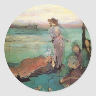 James McNeill Whistler- Sketch for Stickers