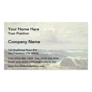 James McNeill Whistler- The Blue Wave Biarritz Double-Sided Standard Business Cards (Pack Of 100)