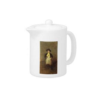 James McNeill Whistler- The Chelsea Girl