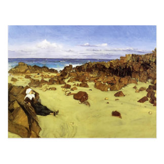 James McNeill Whistler- The Coast of Brittany Postcard