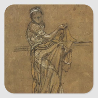 James McNeill Whistler: The Dancing Girl Sticker