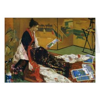James McNeill Whistler- The Golden Screen Card
