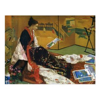 James McNeill Whistler- The Golden Screen Postcard