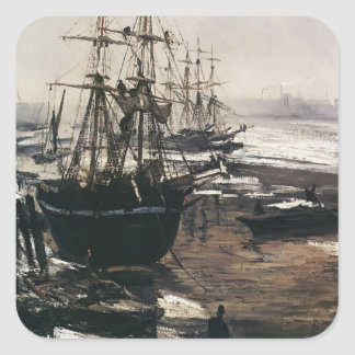 James McNeill Whistler- The Thames in Ice Sticker